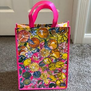 GWP New Lilly Pulitzer Reusable Shopping Bag